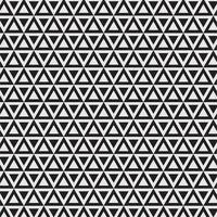 Modèle sans couture géométrique moderne avec des triangles vecteur