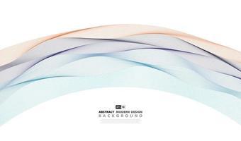 Couverture de fond abstrait coloré motif ondulé