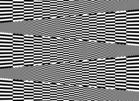 Abstrait de ligne carrée noir et blanc vecteur