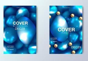 Mise en page de couverture abstraite vecteur