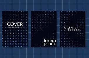 Disposition de la couverture moderne vecteur