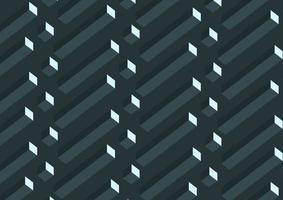 Modèle de cubes géométriques abstraits réalistes 3D gris
