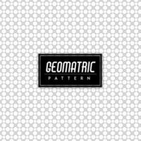 Noir et blanc sans soudure fond géométrique vecteur