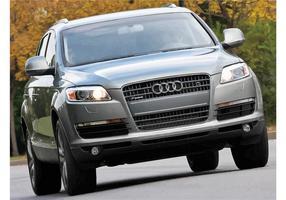 Fond d'écran Audi Q7 vecteur