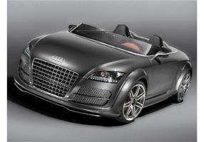 Audi tt club sport quattro vecteur