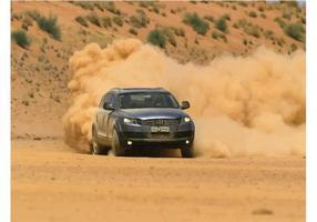 Audi q7 hors route vecteur