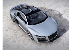 Concept Audi R8 V12 vecteur