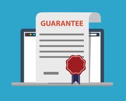 Garantie Logo pour ordinateur portable