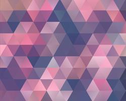 Fond de triangle de polygone vecteur