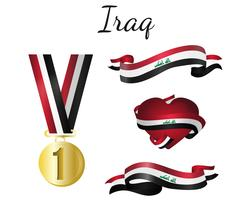 Ruban drapeau irakien