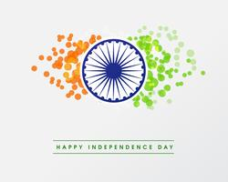 Illustration de la République indienne heureuse