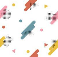 Modèle de style géométrique abstrait