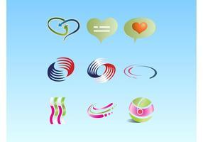 Pack de symbole logo vectoriel