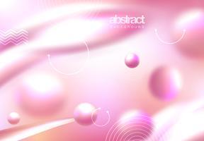 Couverture abstraite rose