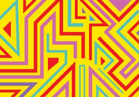 Des formes géométriques abstraites graffiti et des lignes de fond vecteur