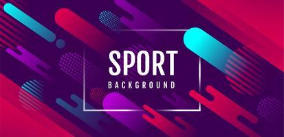 Fond abstrait sport dynamique