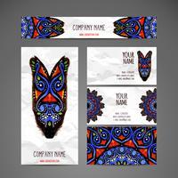 Set de cartes de papeterie