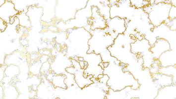 Fond de marbre blanc avec texture dorée