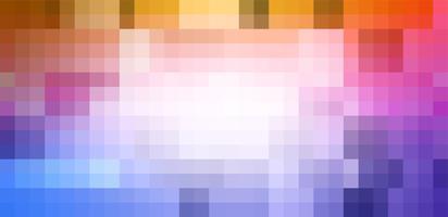 Pixelate fond de couleur abstraite vecteur