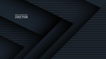 Formes géométriques de carbone tranchées et texturées vecteur