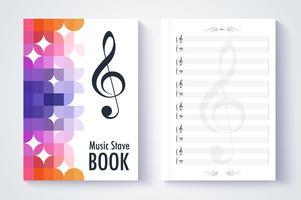 Modèle de portée de musique