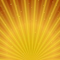 Fond doré sunburst