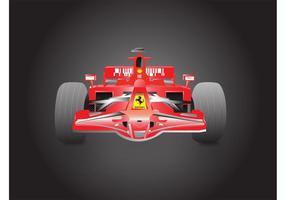 Formule 1 Ferrari vecteur