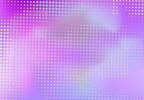 Conception en maille violette avec point numérique en demi-teinte