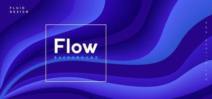 Abstrait Purple Flow