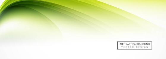 Conception de l'en-tête abstrait vert vecteur