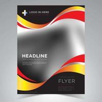 Modèle de Flyer de couverture d'entreprise