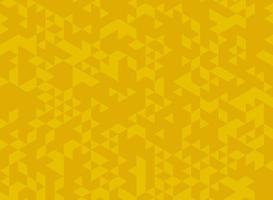 Modèle triangle jaune abstrait vecteur