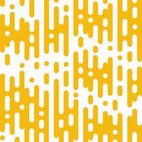 Ligne de lignes abstraites or jaune arrondi rayé vecteur