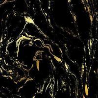 Fond de texture marbre noir et or