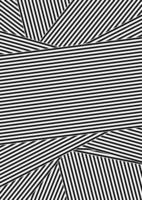 Dessin rayé abstrait noir et blanc vecteur