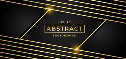 Fond de luxe avec des rayures dorées