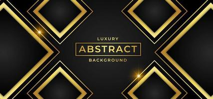 Fond de luxe avec des formes de diamants d'or