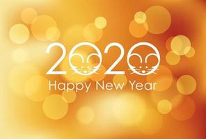 2020 - l'année du rat vecteur