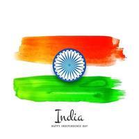 Conception abstraite de la fête de l'indépendance indienne