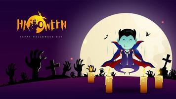 dracula jour d'halloween
