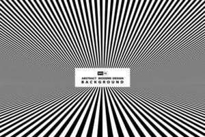 Couverture de perspective en noir et blanc