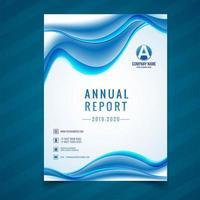 Modèle de carte brochure d'affaires moderne