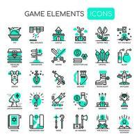 Éléments du jeu, Thin Line et Pixel Perfect Icons