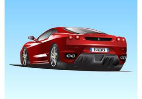 Ferrari F430 vecteur