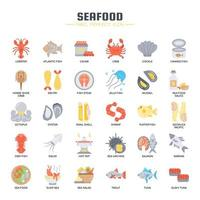 Fruits de mer, Thin Line et Pixel Perfect Icons
