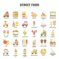 Street Food et Food Truck, Thin Line et Pixel Perfect Icons