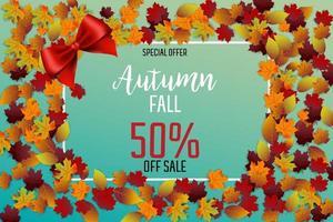 Festival de vente de feuilles d'automne