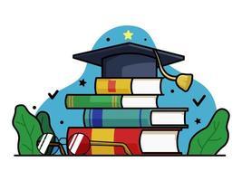 Illustration de la journée mondiale des enseignants vecteur