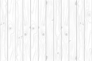 Texture en bois de couleur blanche claire vecteur