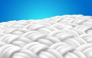 Close up pattern de fibres de tissu vecteur